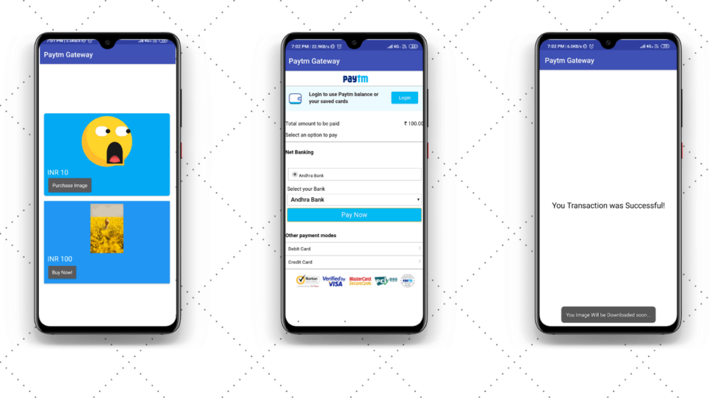 PAytm-Gateway-in-App-Kodular