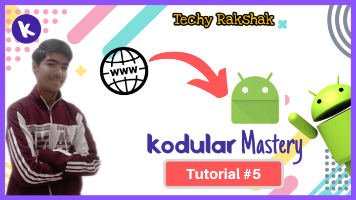 Convert Website to App in kodular